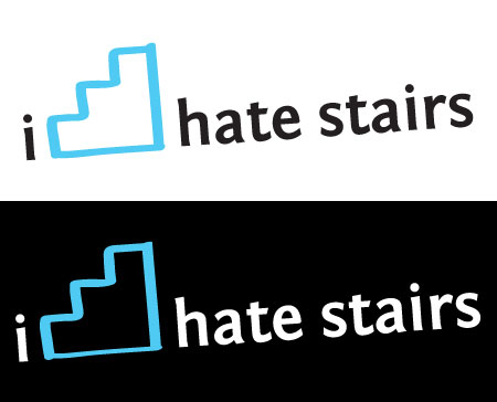 I hate stairs t-shirt preview